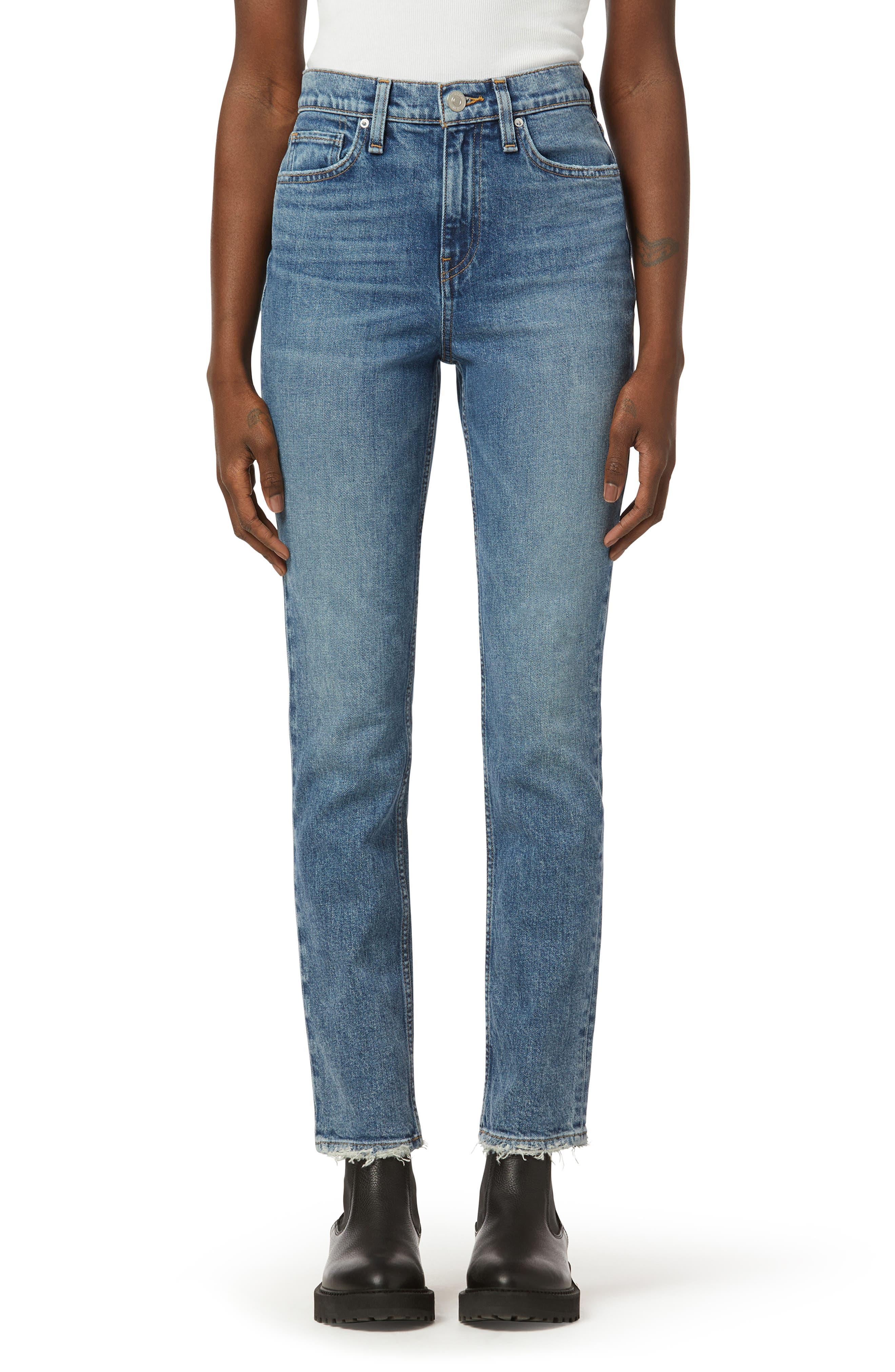 Holly High Waist Straight Leg Jeans