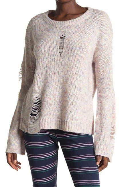Image of WILDFOX Skye Distressed Sweater