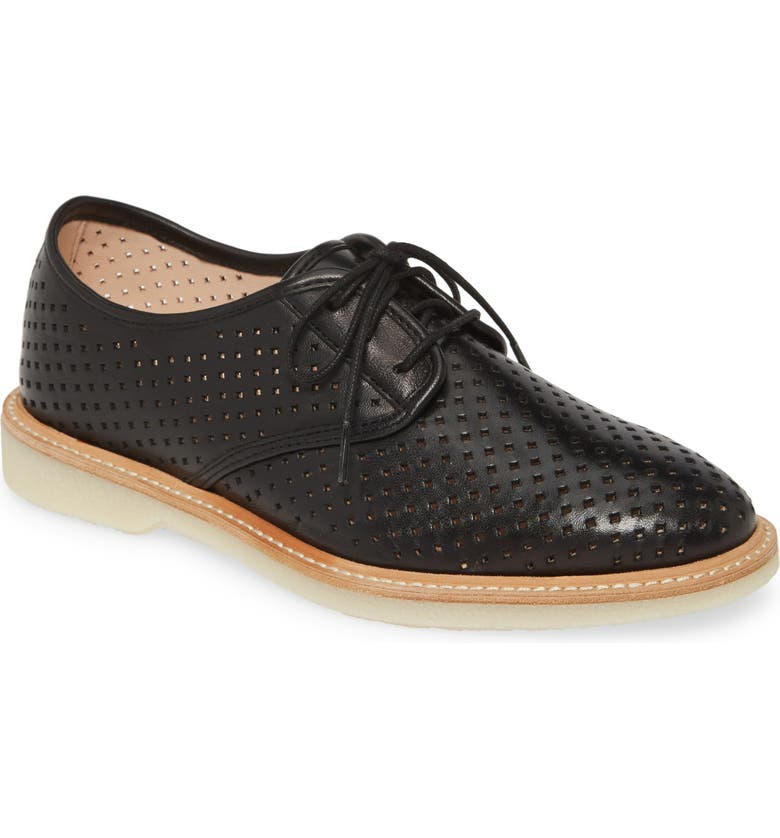JOHNSTON & MURPHY Fiona Perforated Derby, Main, color, 001