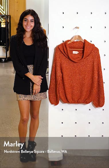Cowl Neck Sweater, sales video thumbnail