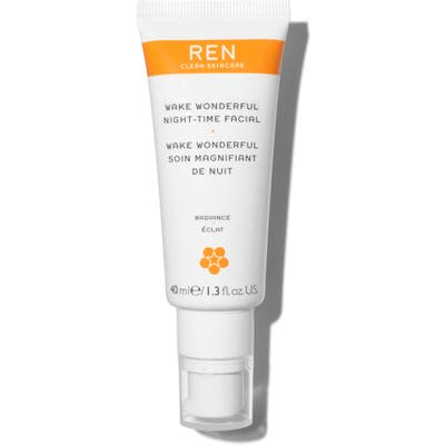 Ren Clean Skincare Wake Wonderful Night-Time Facial Exfoliating Treatment