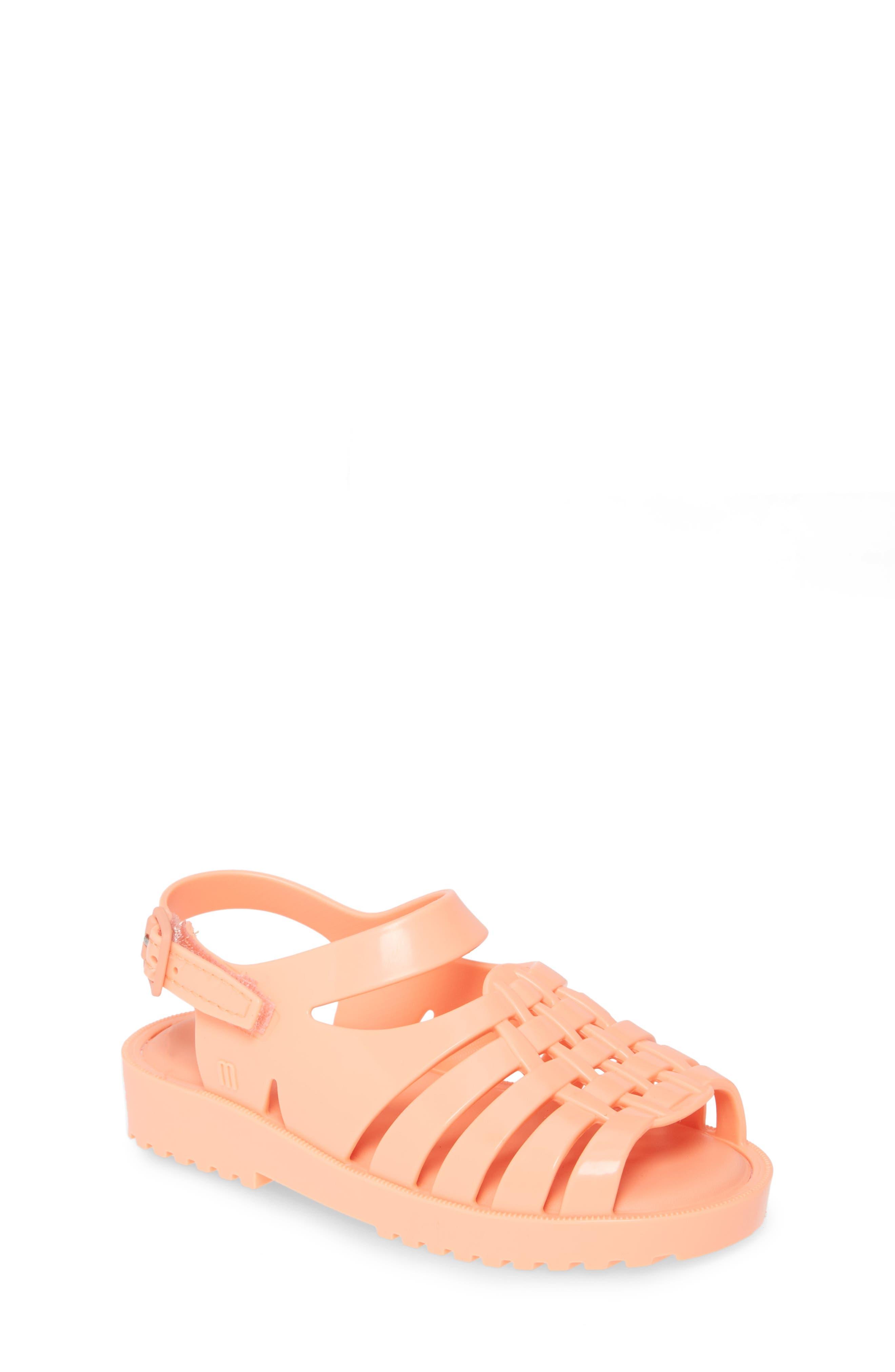 Toddler Girls Mini Melissa Frances Jelly Sandal Size 8 M  Pink