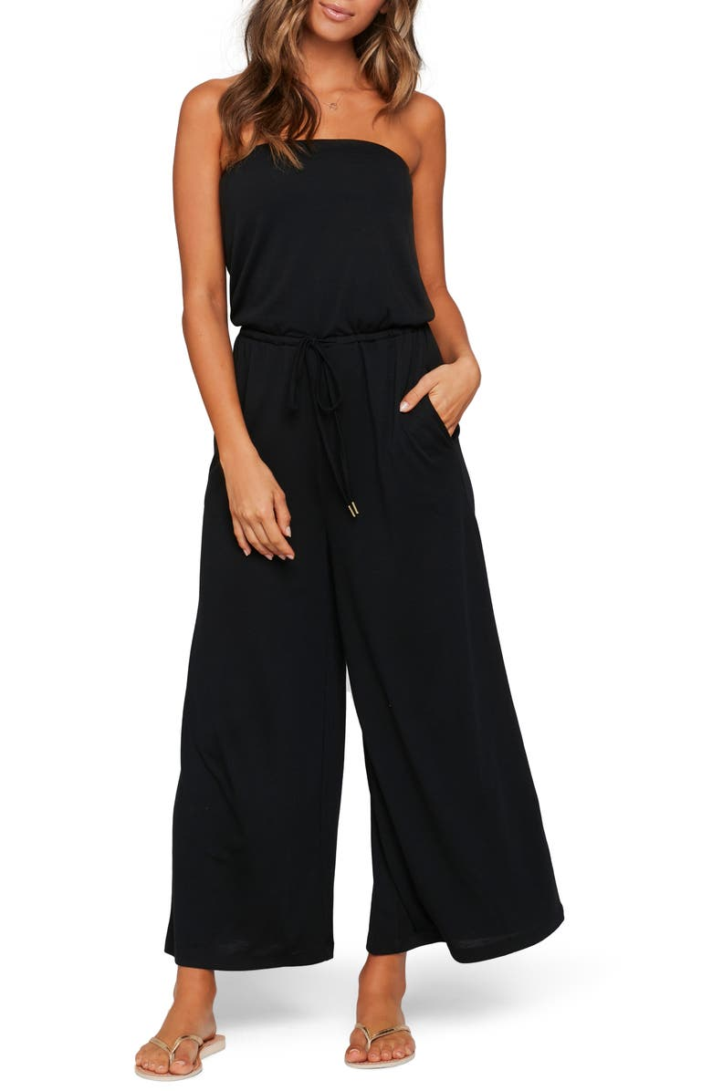 L SPACE Mila Jumpsuit Cover-Up, Main, color, 001