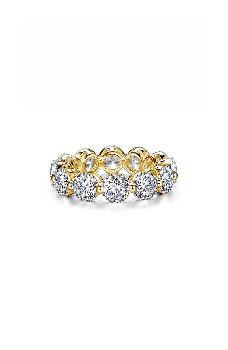 LAFONN Round Eternity Band, Main, color, GOLD/ CLEAR