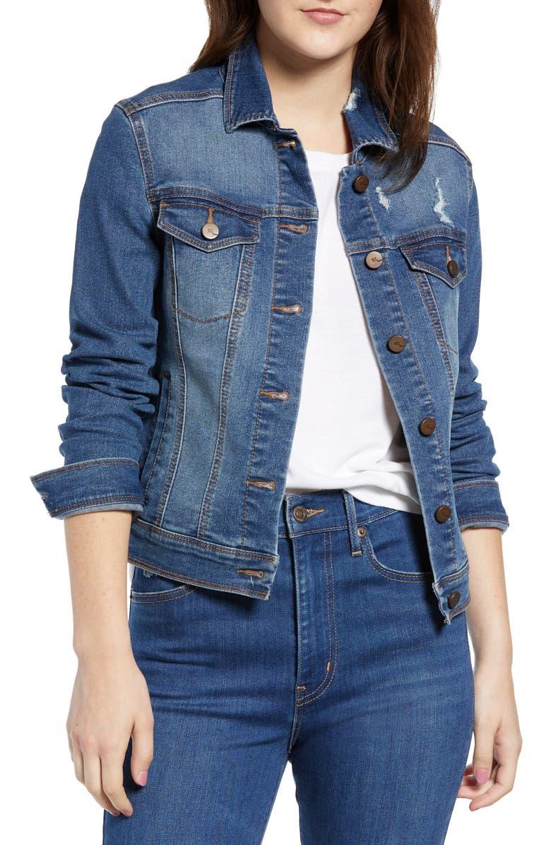 1822 DENIM Heritage Denim Jacket, Main, color, 400