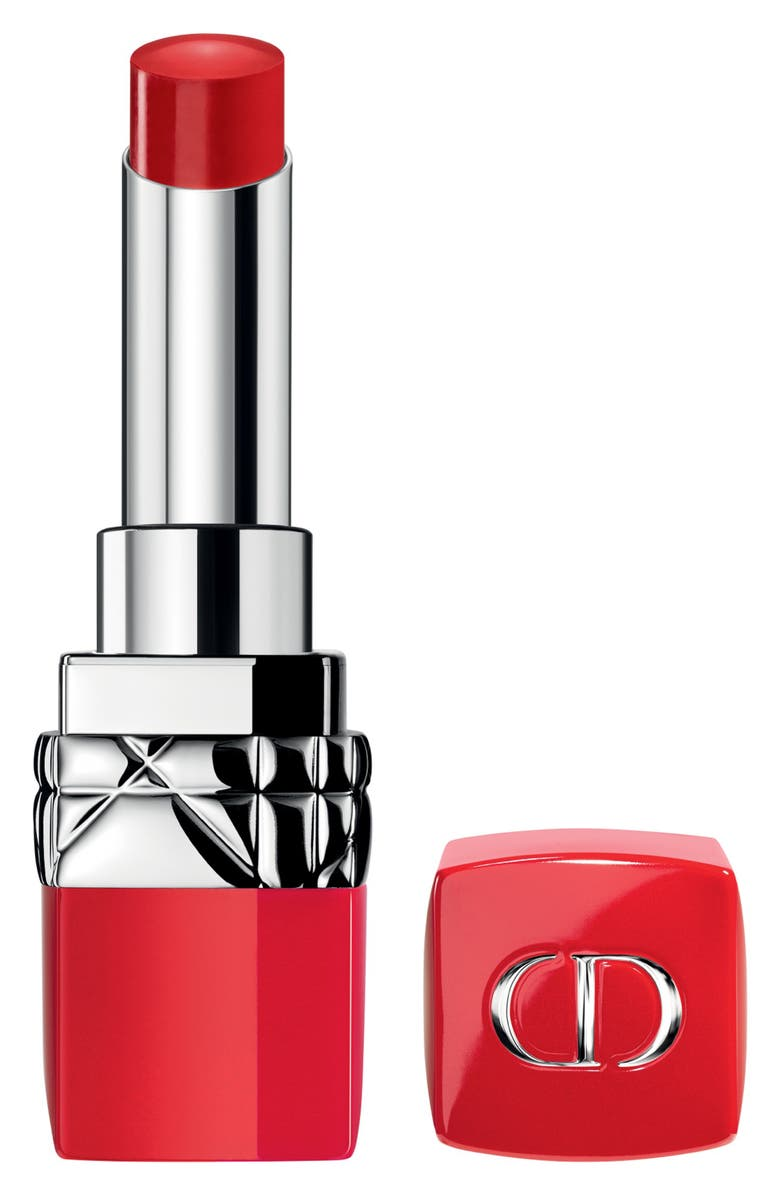 DIOR Rouge Dior Ultra Rouge Pigmented Hydra Lipstick, Main, color, 999 ULTRA DIOR