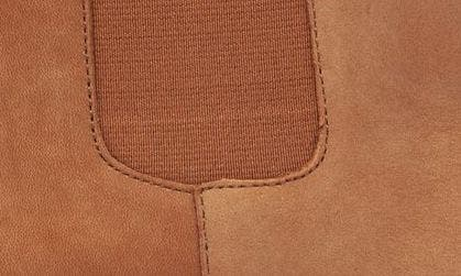 COGNAC NUBUCK LEATHER