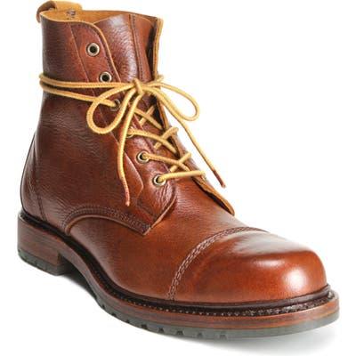 Allen Edmonds Normandy Cap Toe Boot, Brown