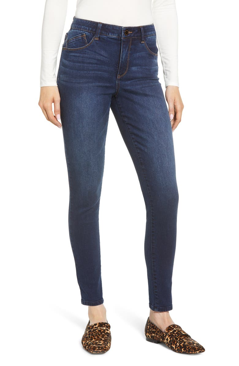 Ab-solution High Waist Skinny Jeans, Main, color, IN- INDIGO
