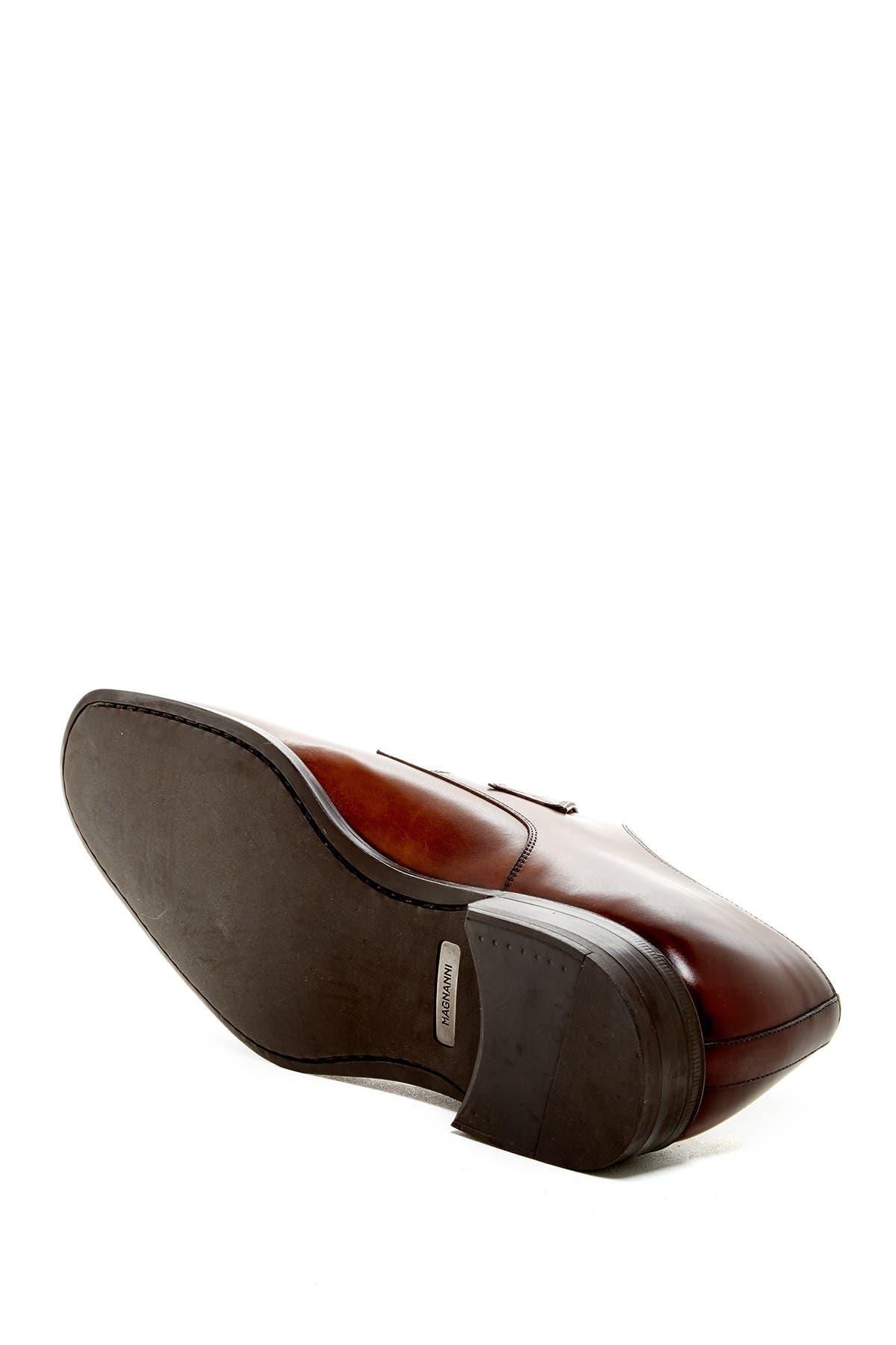 Tudanca Leather Monk Strap Dress Shoe