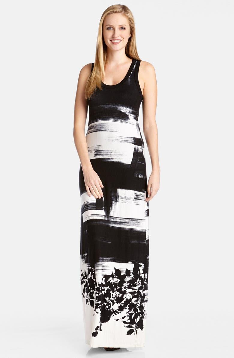 KAREN KANE Print Tank Style Maxi Dress, Main, color, 001