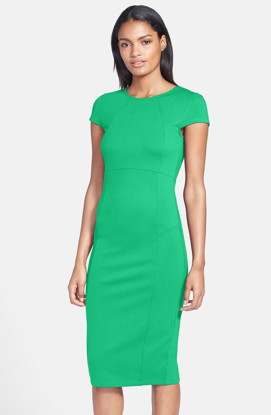 ,                             Ward Seamed Pencil Dress,                             Main thumbnail 38, color,                             310