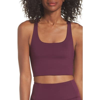 Girlfriend Collective Paloma Sports Bra, Purple