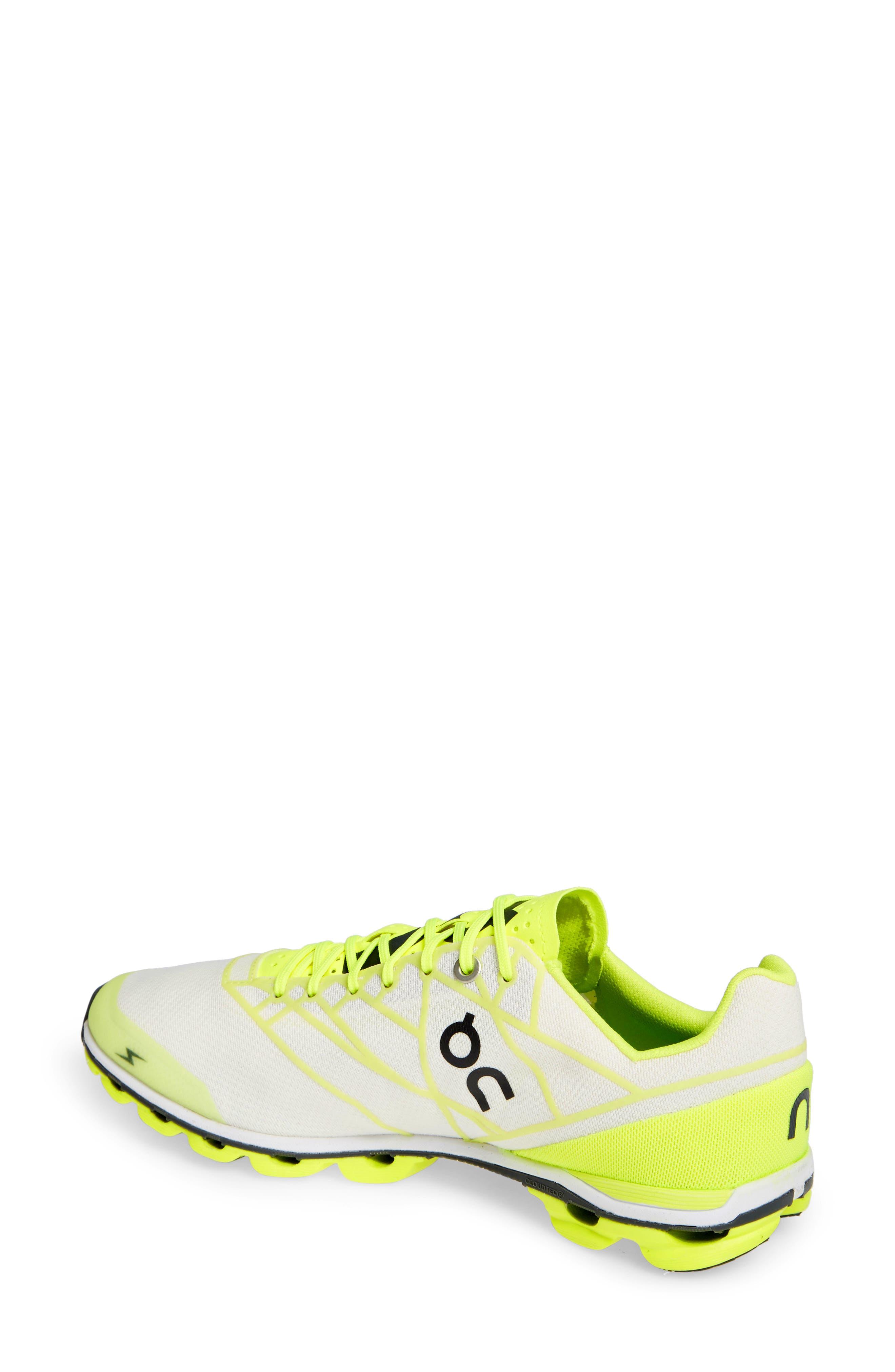 ,                             Cloudflash Racing Shoe,                             Alternate thumbnail 2, color,                             NEON/ WHITE