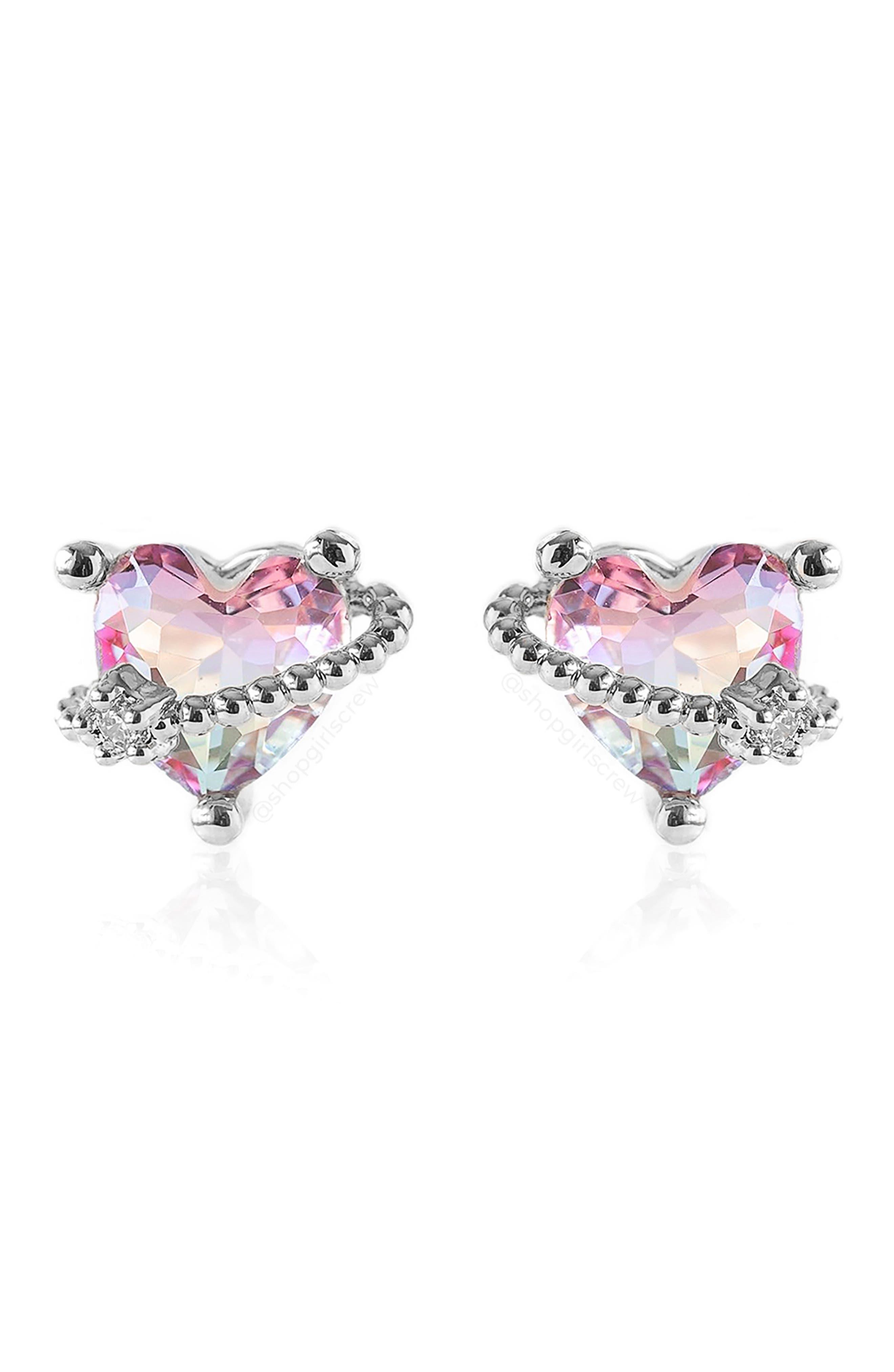 In Love Stud Earrings