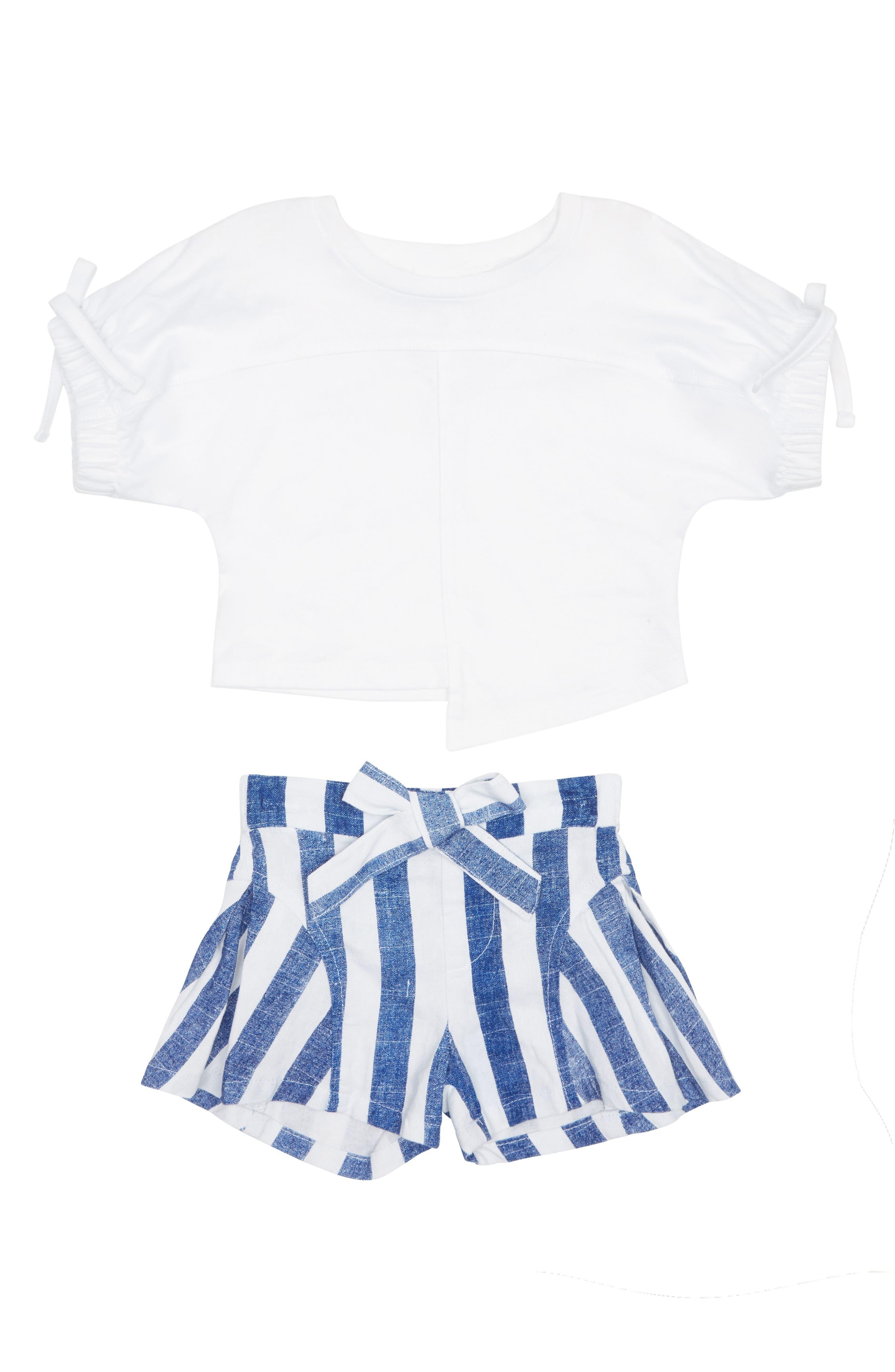 Toddler Girls Habitual Kenna Shorts Set