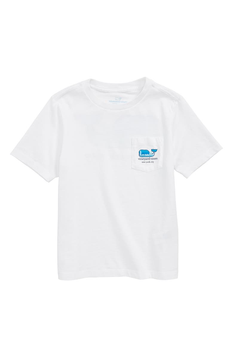 0bf44227 vineyard vines New York City Whale Pocket T-Shirt (Toddler Boys ...