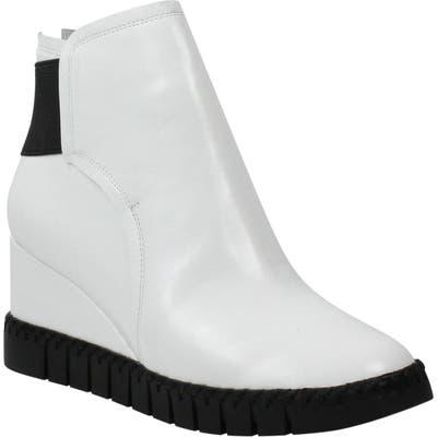 J. Renee Nagetta Wedge Sneaker B - White