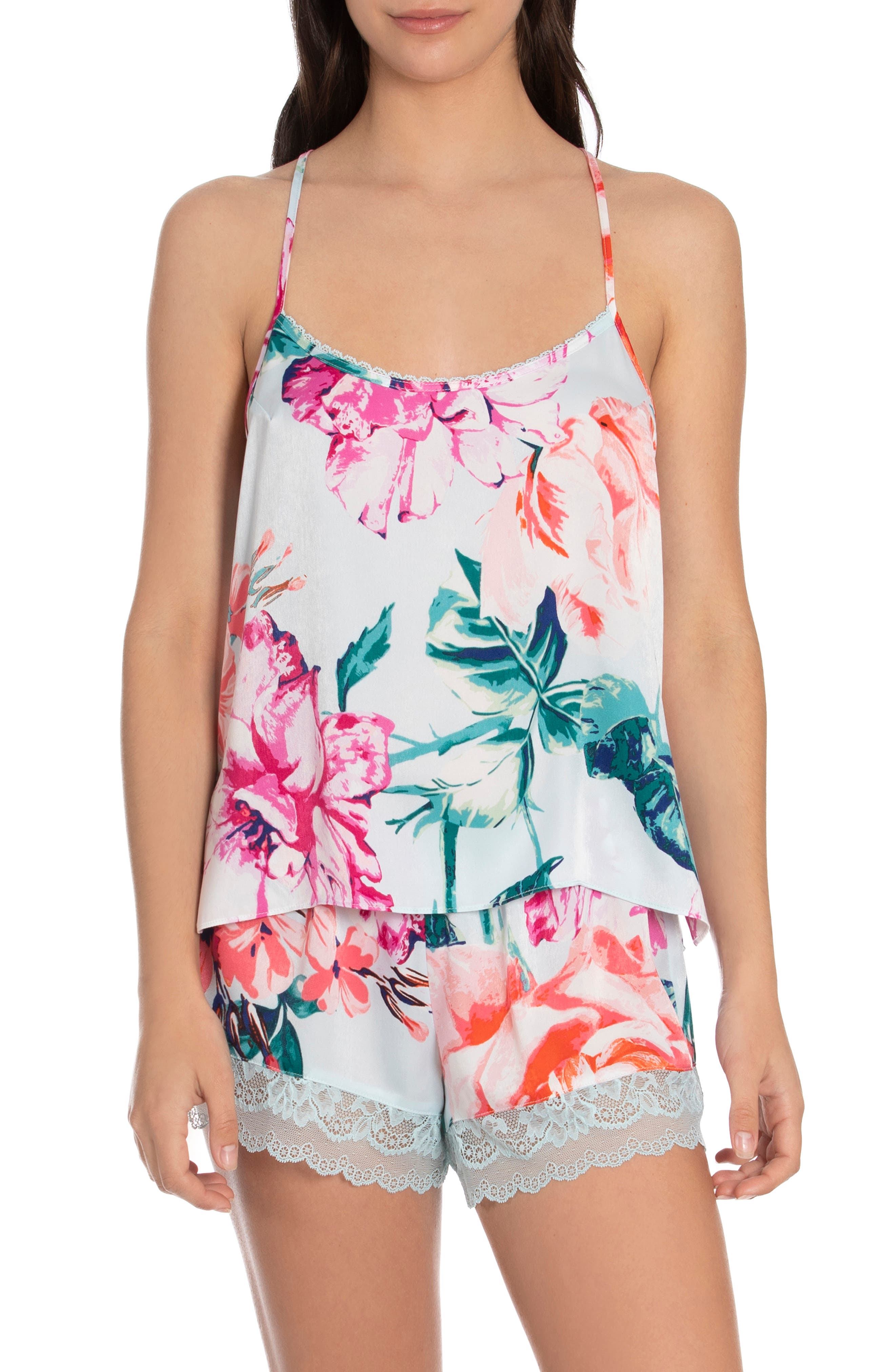 Floral Racerback Short Pajamas