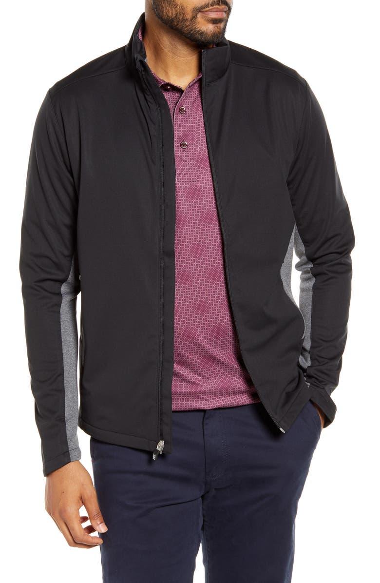 CUTTER & BUCK Navigate Soft Shell Jacket, Main, color, 001