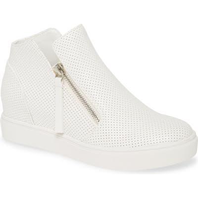 Steve Madden Caliber High Top Sneaker- White
