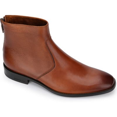 Kenneth Cole New York Roy Zip Boot- Brown