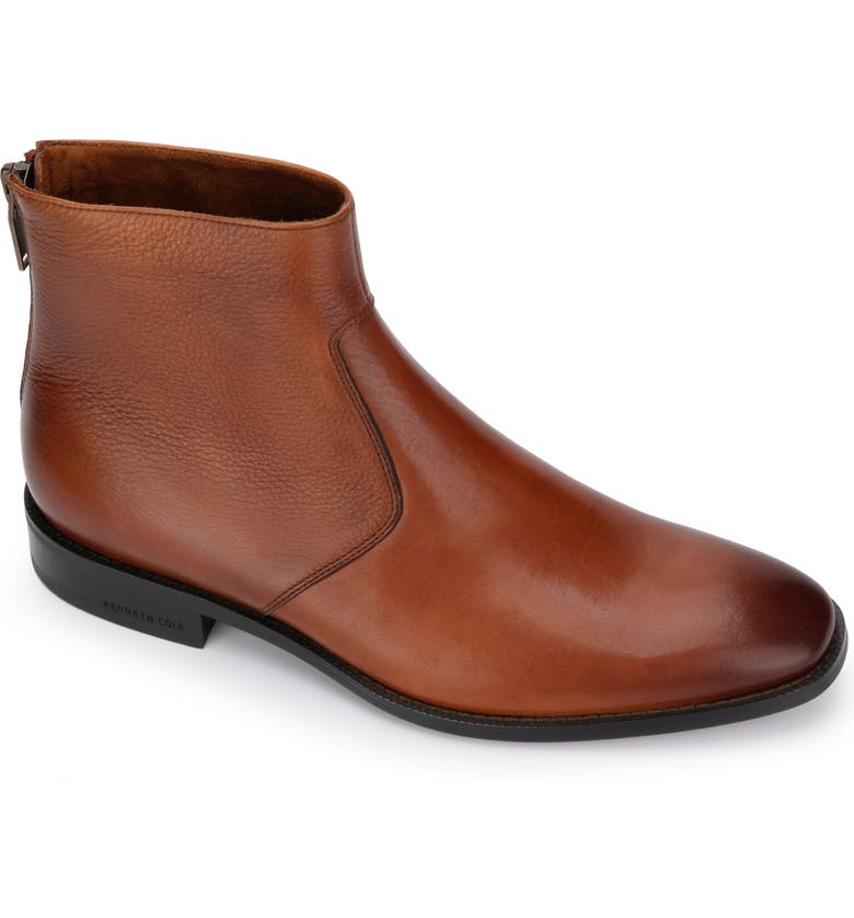 KENNETH COLE NEW YORK Roy Zip Boot, Main, color, COGNAC