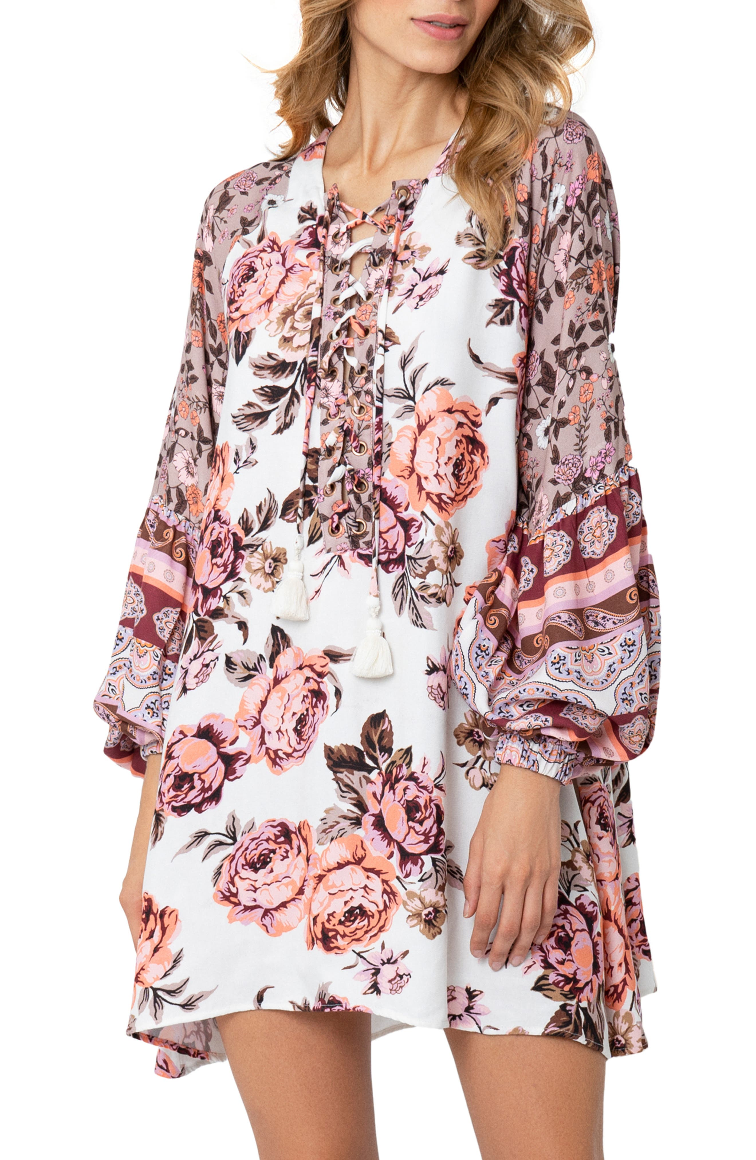 Rose Ellie Cover-Up Tunic