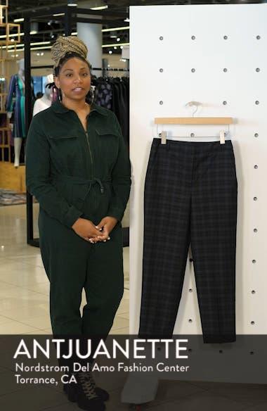 Taylor Marvel Plaid Crop Pants, sales video thumbnail