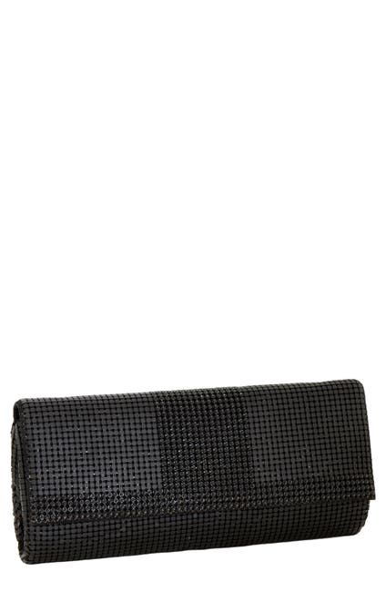 Image of Whiting & Davis Mesh Flap Clutch