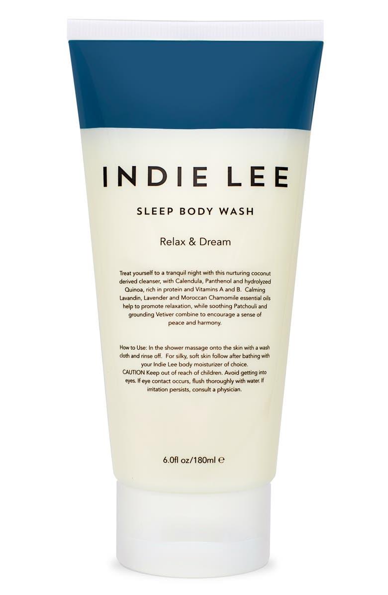 INDIE LEE Sleep Body Wash, Main, color, NO COLOR