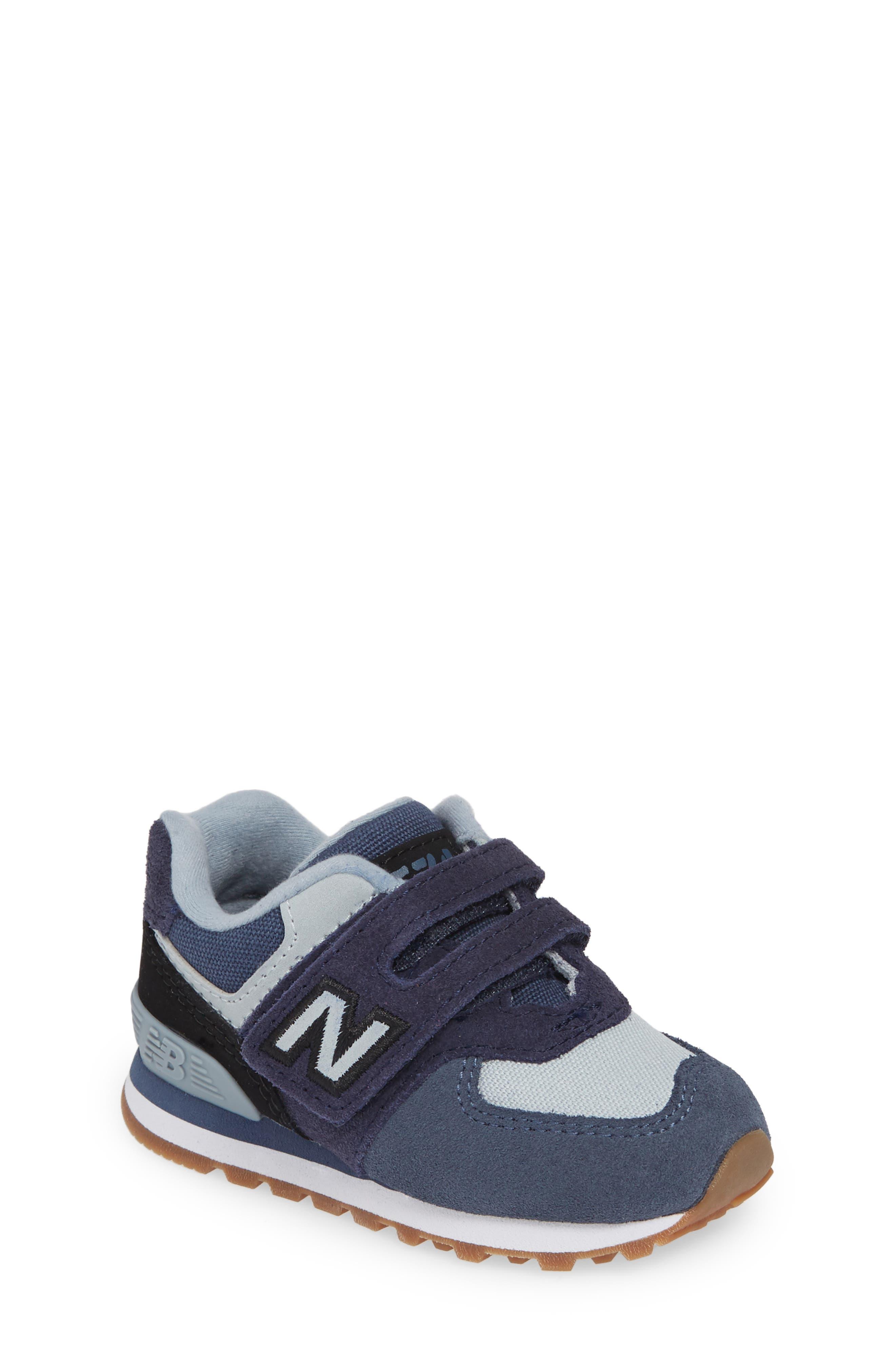 Toddler New Balance 574 Retro Surf Sneaker Size 7 W  Blue