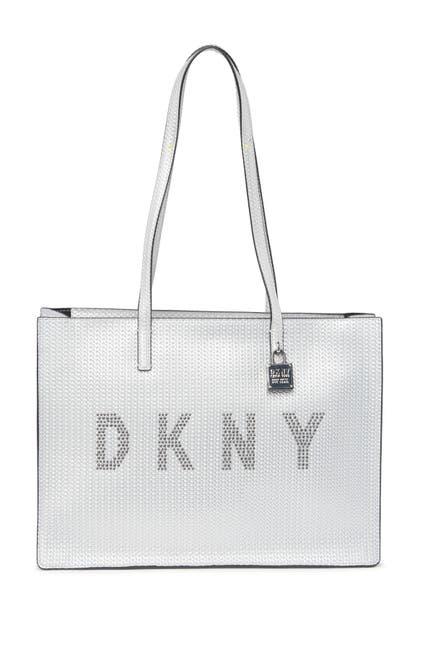 Image of DKNY Commuter Large Logo Tote Bag