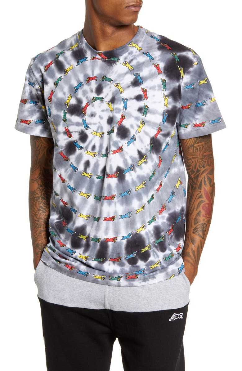 ICECREAM Grateful Tie Dye T-Shirt, Main, color, 100