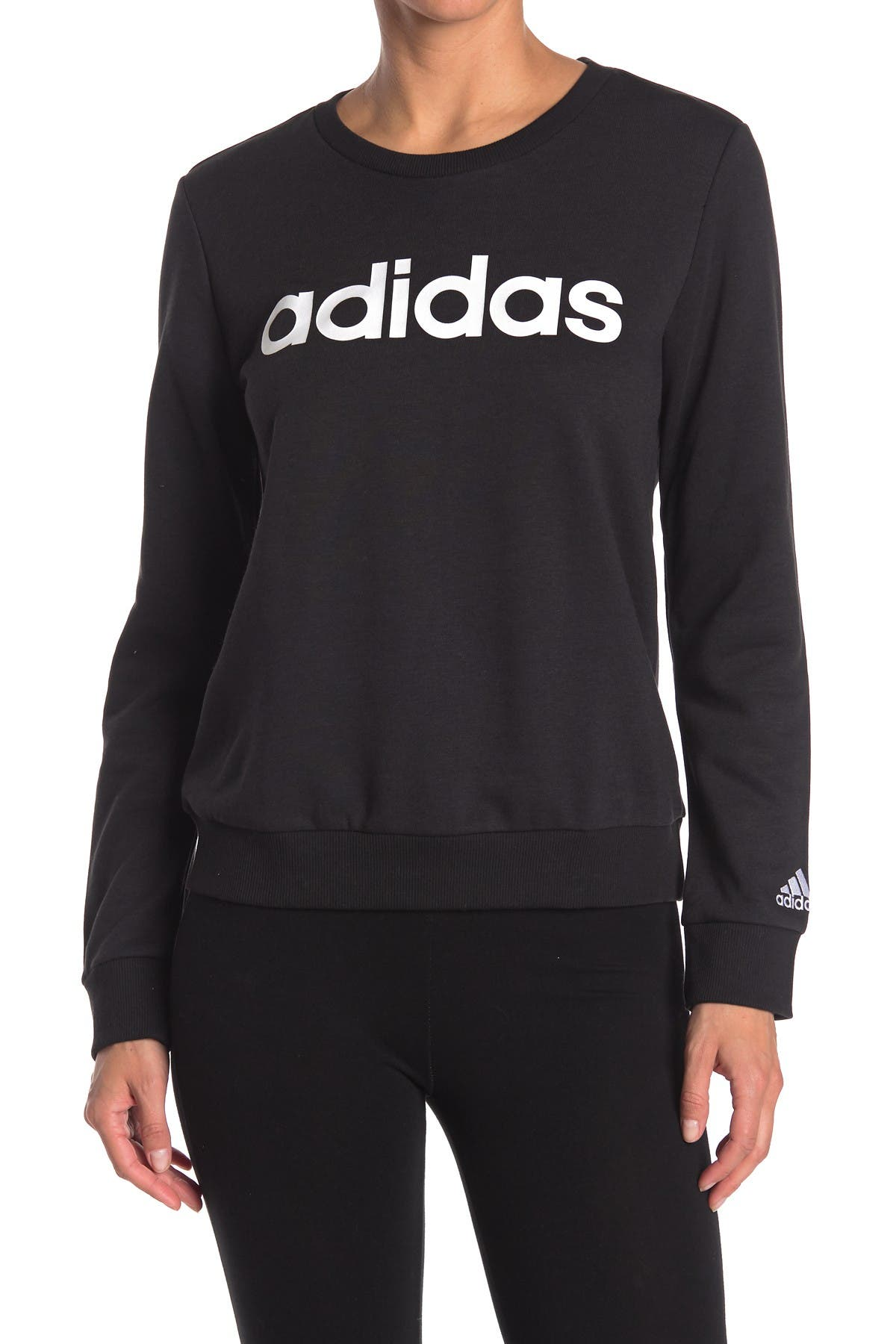 Image of adidas Logo Pullover Sweater