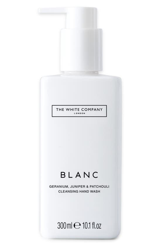 The White Company Blanc Geranium, Juniper And Patchouli Cleansing Hand Wash 300ml