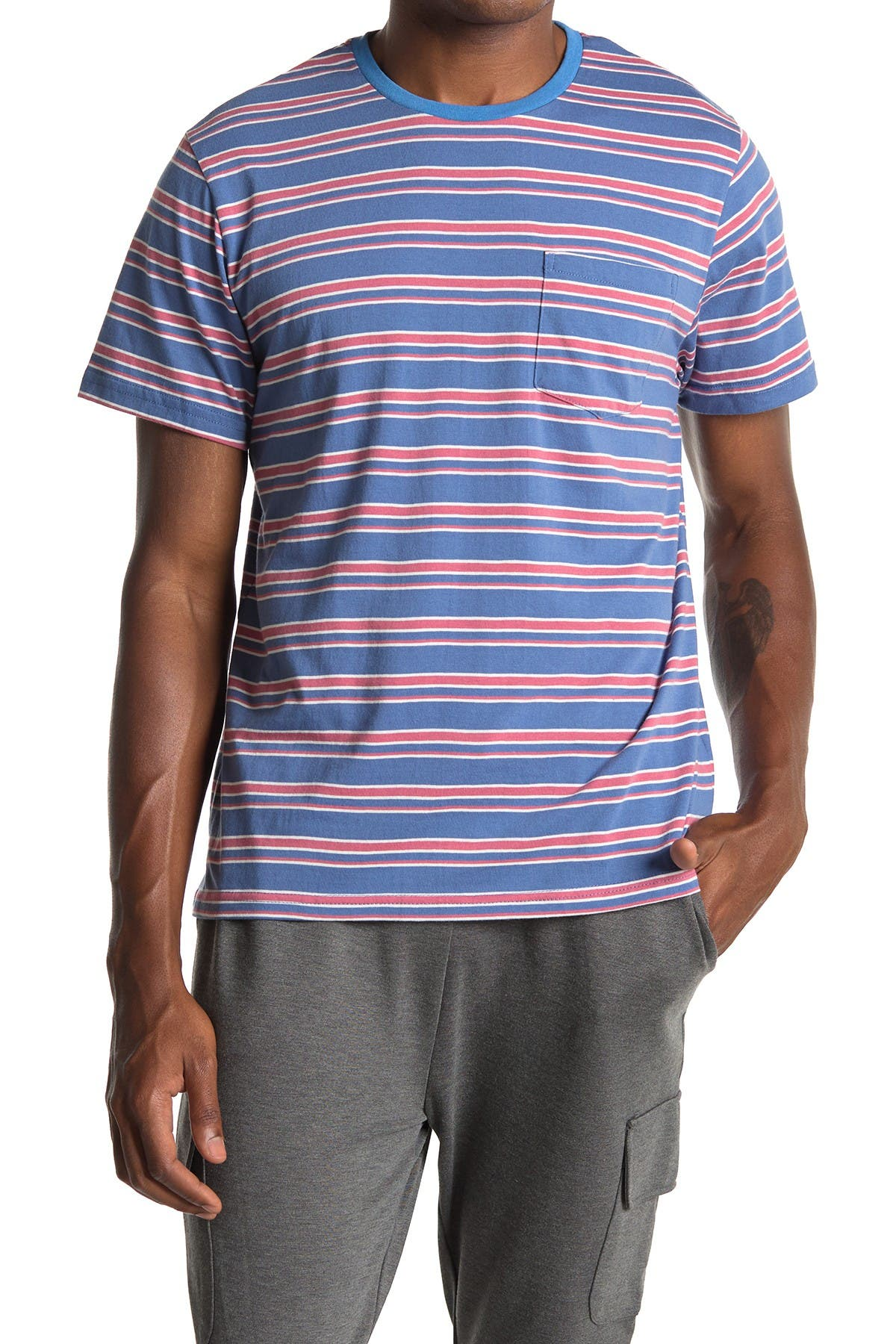 Image of Sovereign Code Stadium Striped Tee