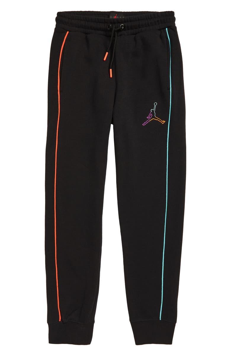 JORDAN Air Future Tapered Sweatpants, Main, color, BLACK