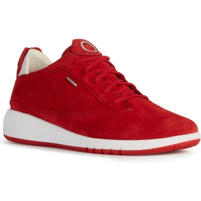 Geox Aerantis Sneaker, Red
