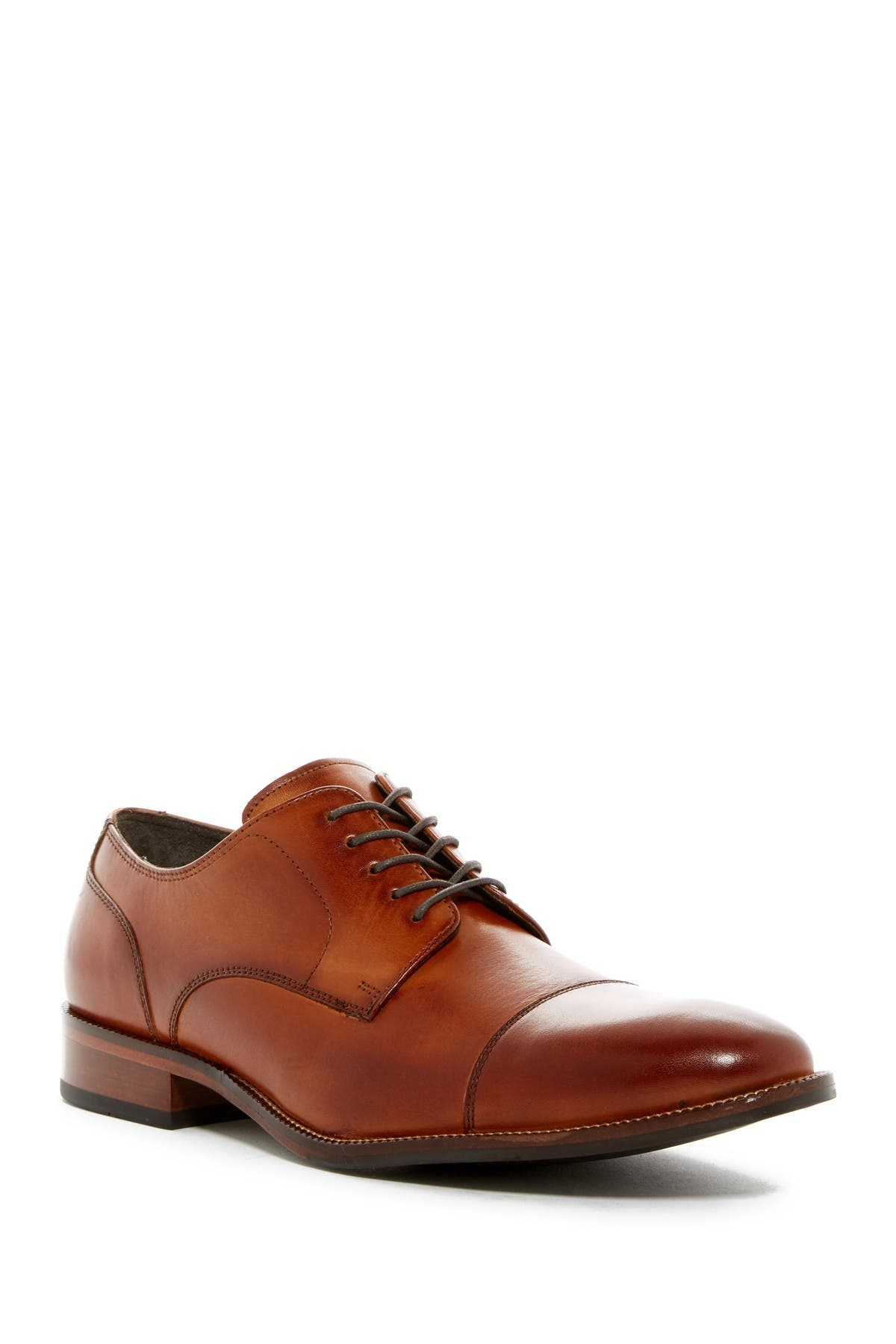 Image of Cole Haan Benton Leather Cap Toe Derby II - Wide Width Available