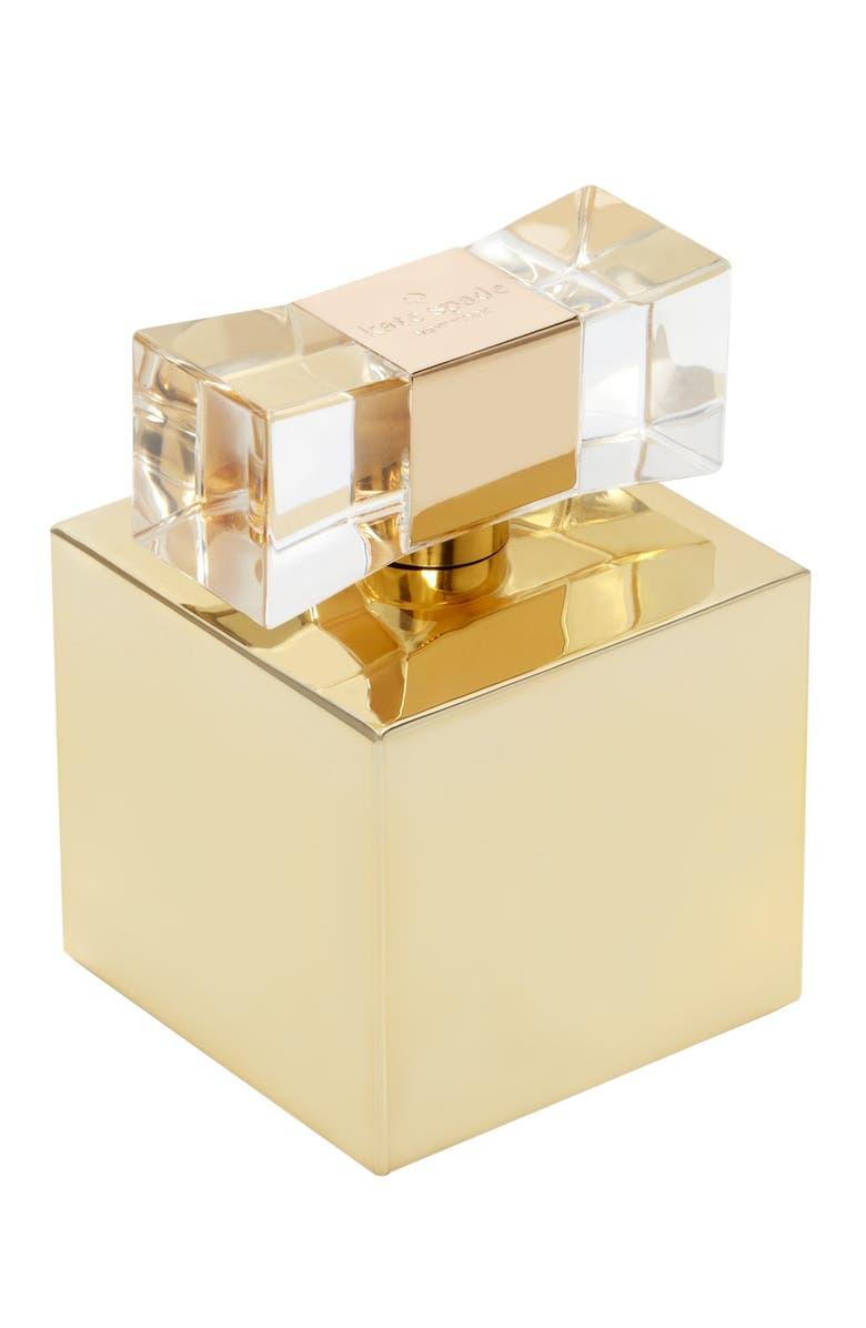 LIVE COLORFULLY kate spade new york 'live colorfully - gold' eau de parfum, Main, color, 000