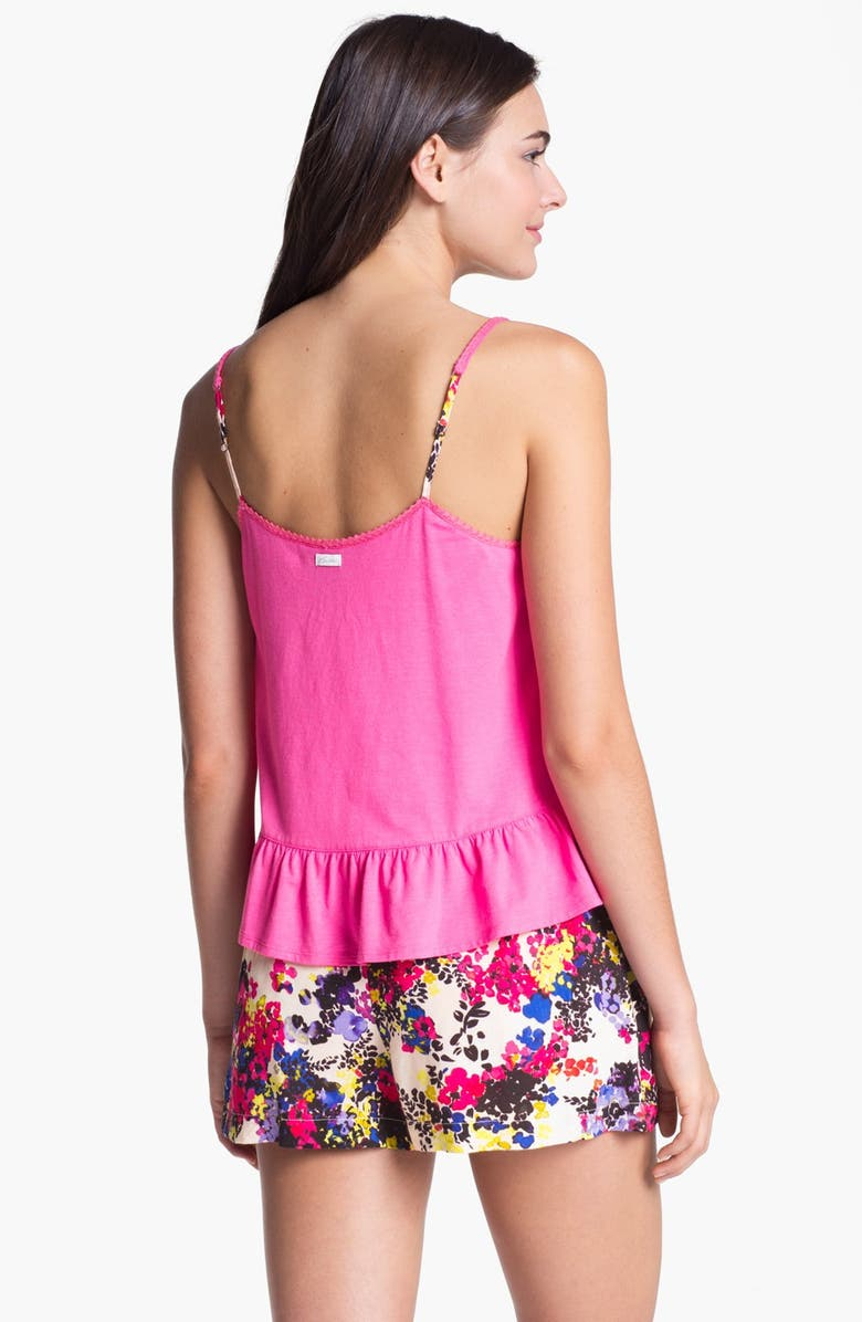 Kensie 'Sunset Beach' Camisole & Shorts, Main, color, 283