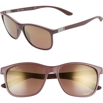 Ray-Ban 5m Square Sunglasses - Dark Violet