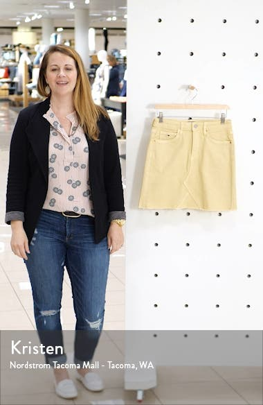 TJW Denim Miniskirt, sales video thumbnail