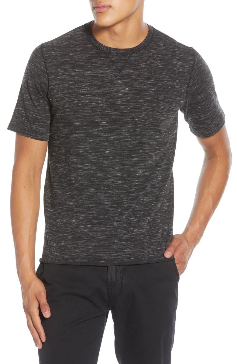 BILLY REID Variegated T-Shirt, Main, color, BLACK