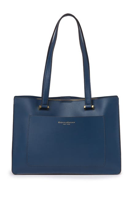 Image of Donna Karan Karla Leather Tote