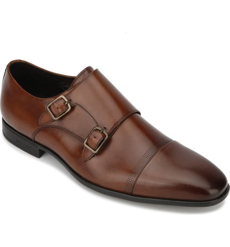 KENNETH COLE NEW YORK Regal Double Monk Strap Shoe, Main, color, 201