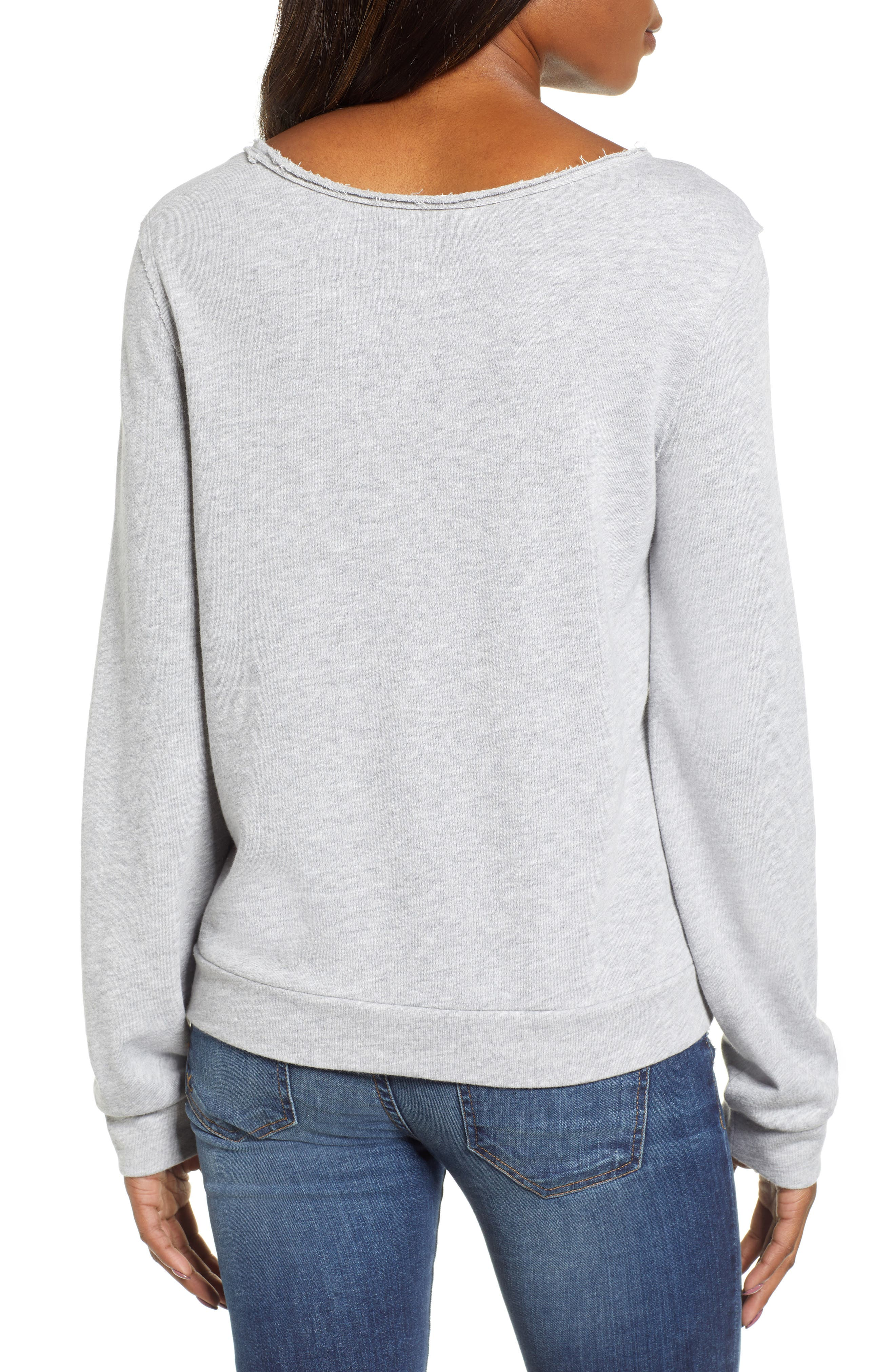 ,                             Embroidered Sweatshirt,                             Alternate thumbnail 2, color,                             030