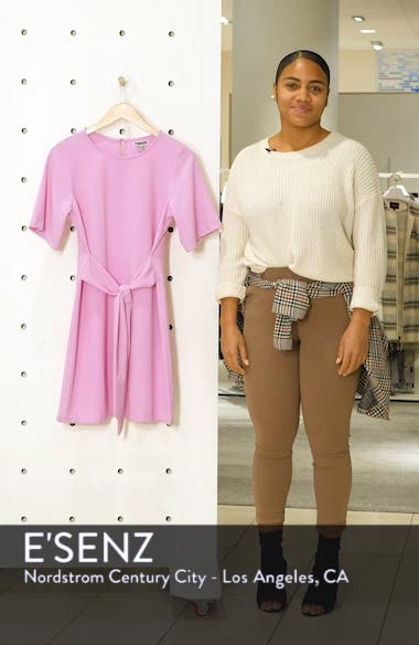 Front Tie Shift Dress, sales video thumbnail