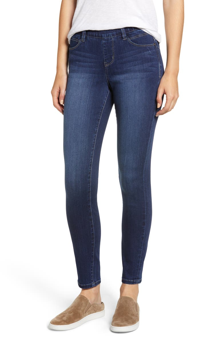 JAG JEANS Bryn Pull-On Jeans, Main, color, MID INDIGO